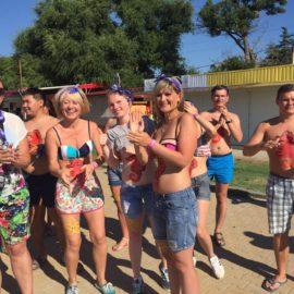 Летний профсоюзный тренинговый лагерь «Школа Тренеров» в Крыму